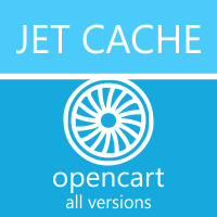 SEO CMS JET CACHE - модуль кеширования opencart